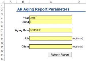 ARIA Report Parameters