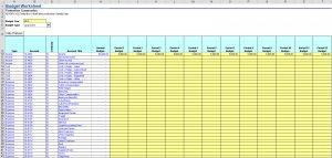 Budget Worksheet-Cash