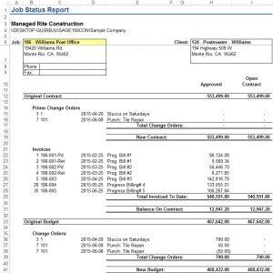 JSR Report