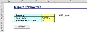 PMLEL-Report Parameters