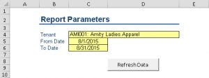 PMTLBT-Report Parameters